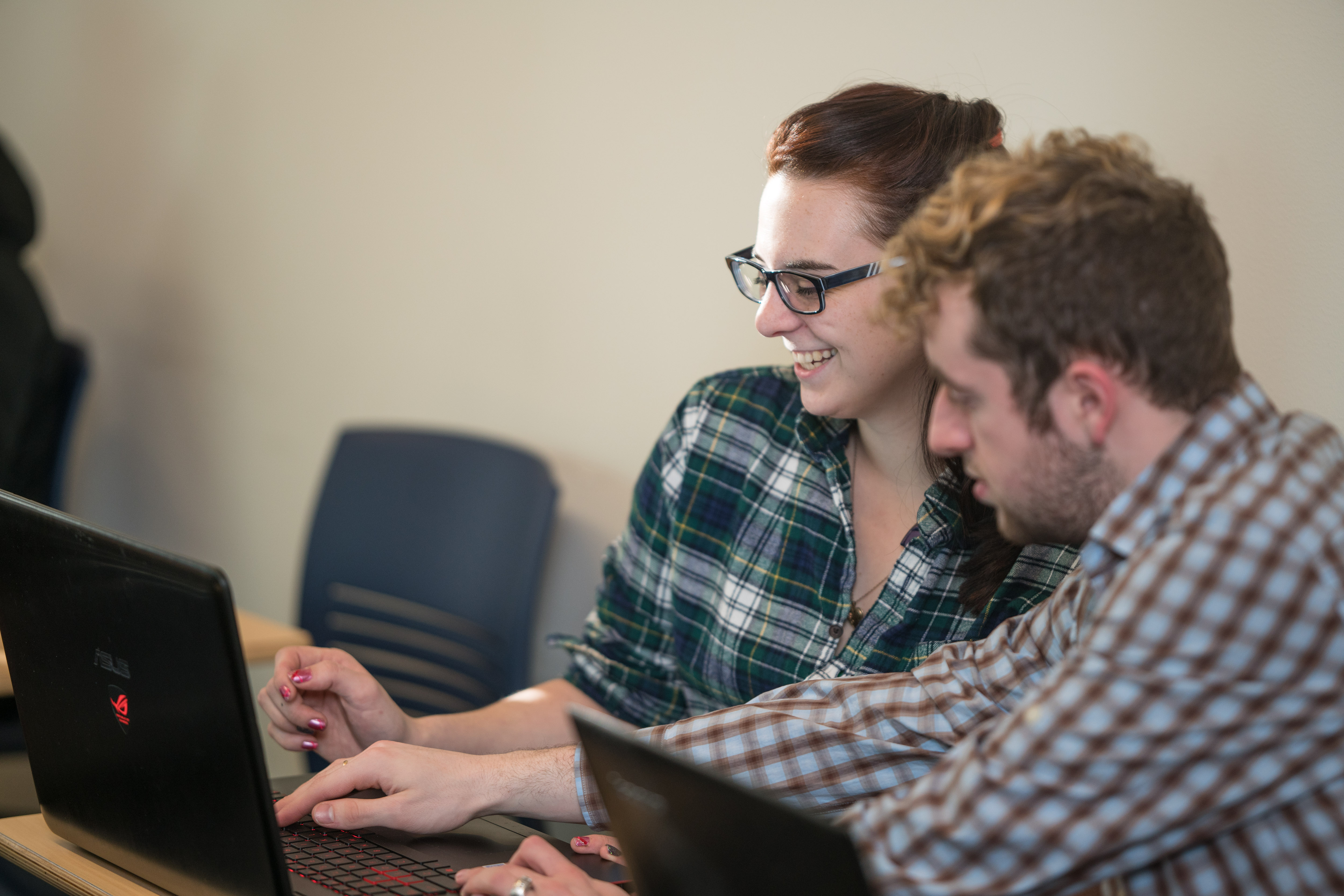 Analytics students at UNH Manchester