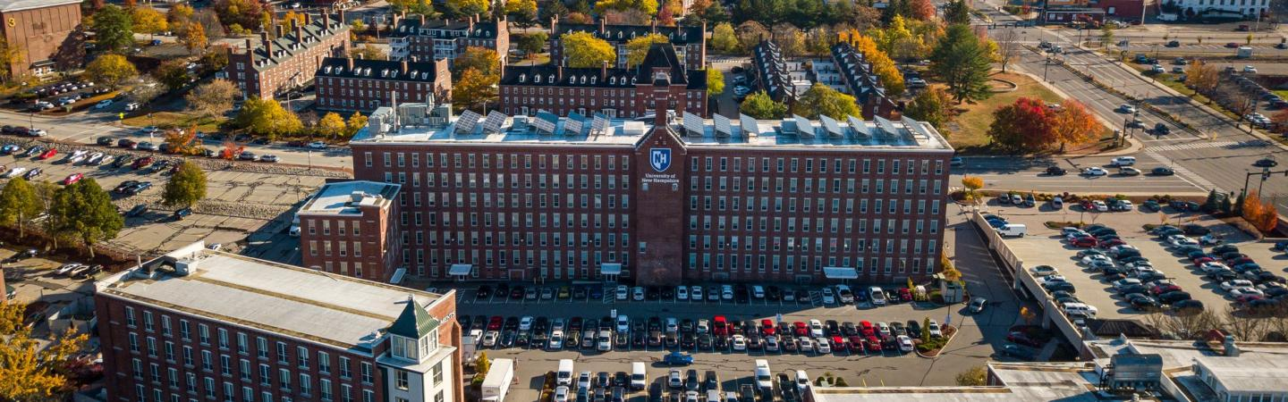 UNH Manchester aerial