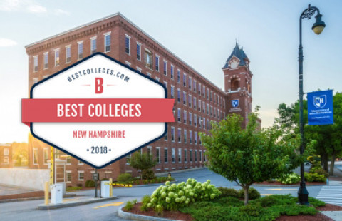UNH Manchester Ranked #2 College in the State by BestColleges.com