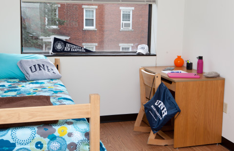 UNH Downtown Commons offers double and triple rooms to UNH Manchester students