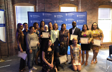 ESOL Summer Program Celebrates 12 Graduates