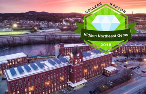 "UNH Manchester Named a 2019 ""Hidden Gem"" by College Raptor"