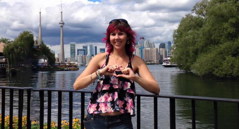 Angela Mastrogiacomo, 2010 graduate of communication arts.