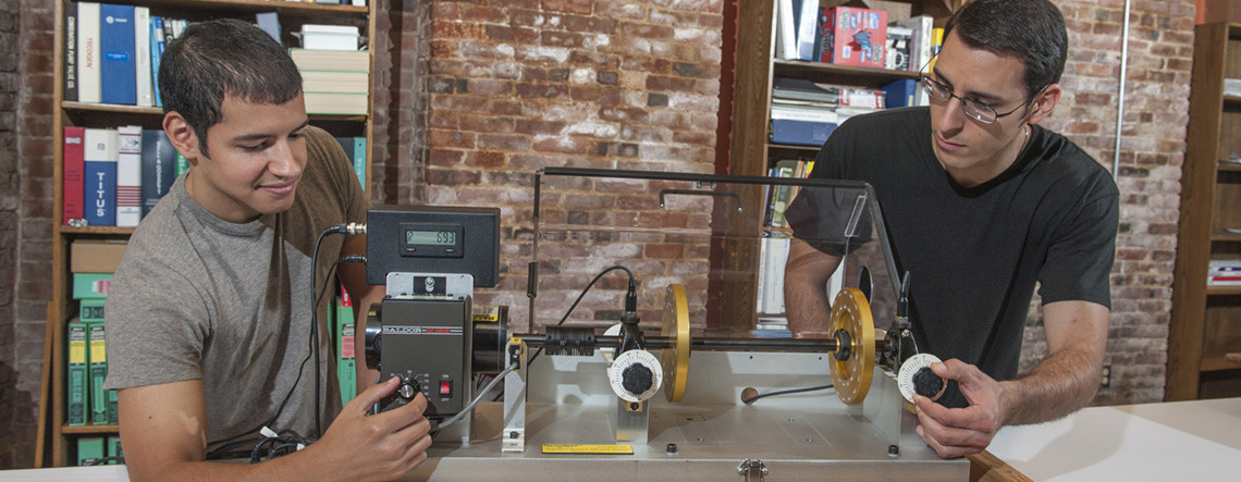 Mechanical Engineering Technology students conduct research